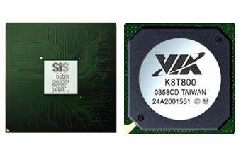 Новые чипсеты SiS и VIA для Windows Vista