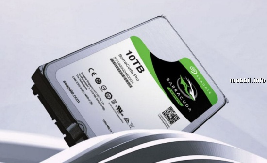 10TB BarraCuda Pro Hard Drive