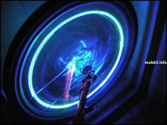 Светодиодная подсветка для велосипеда