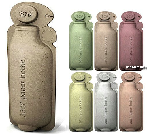 Бумажные бутылки