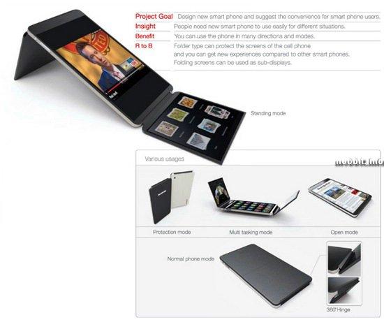 360 Folding Mobile Phone