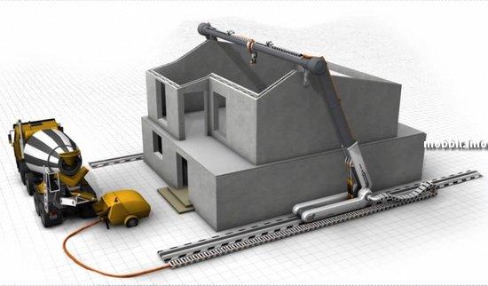 3D-принтер для скоростной печати домов
