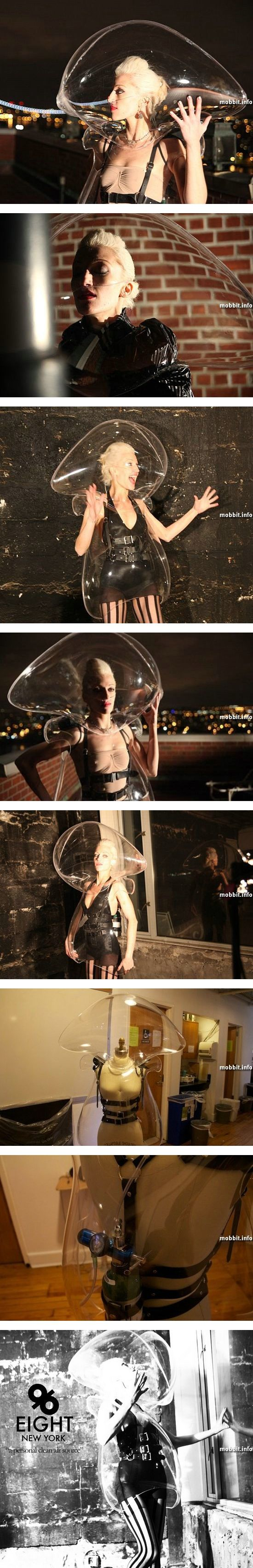 """Платье с """"кислородным пузырем"""""""