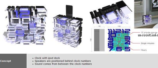 концепты часов-головоломок