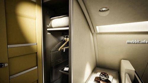 Новый салон Lufthansa A380