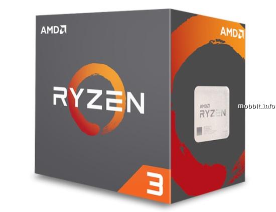 AMD Ryzen 3 1300X и Ryzen 3 1200