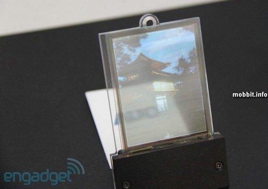 Прозрачный сенсорный дисплей AUO