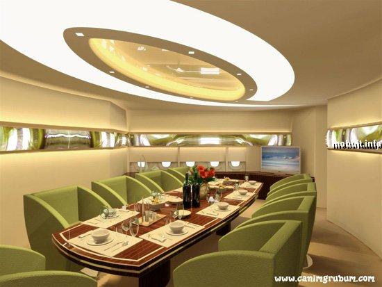 Концептуальный VIP-салон для  Airbus A380