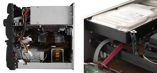 Компьютер в музыкальном центре