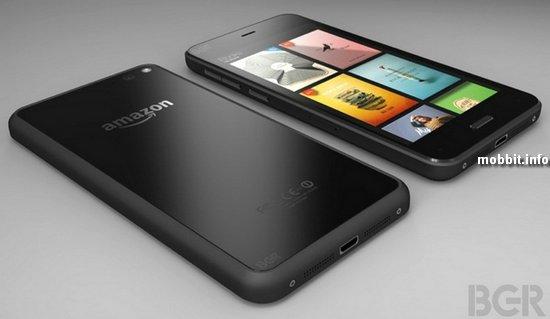 Необъявленный смартфон Amazon