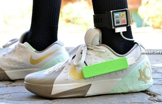 Обувь, заряжающая телефоны