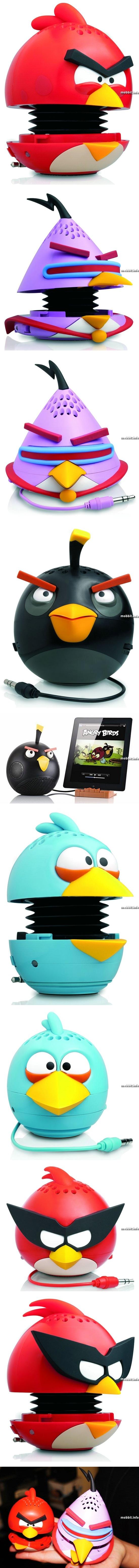 Портативные колонки Angry Birds от Gear4