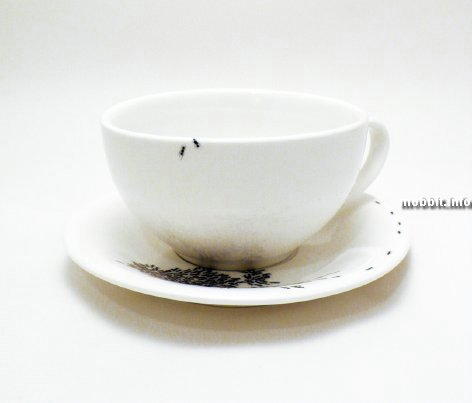 Кофейный сервиз не для слабонервных