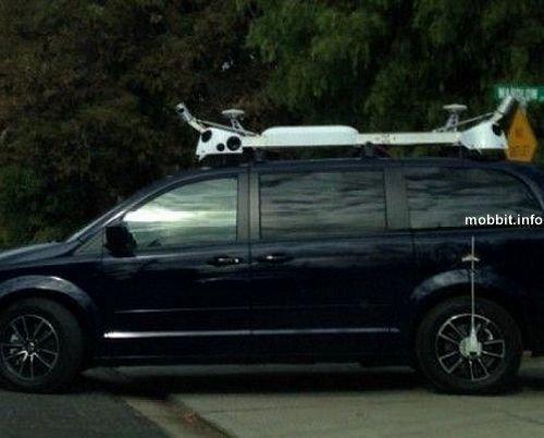 Таинственные автомобили Apple