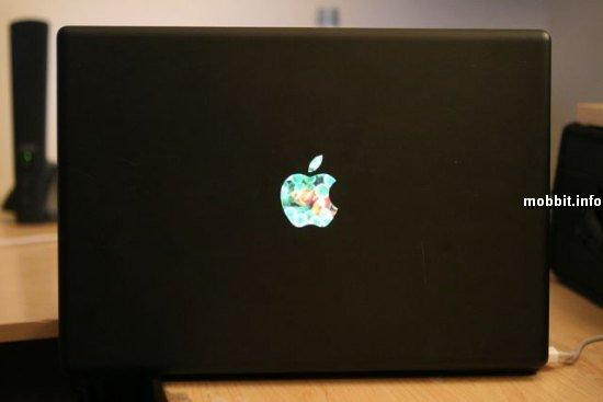 MacBook с внешним LCD-дисплеем