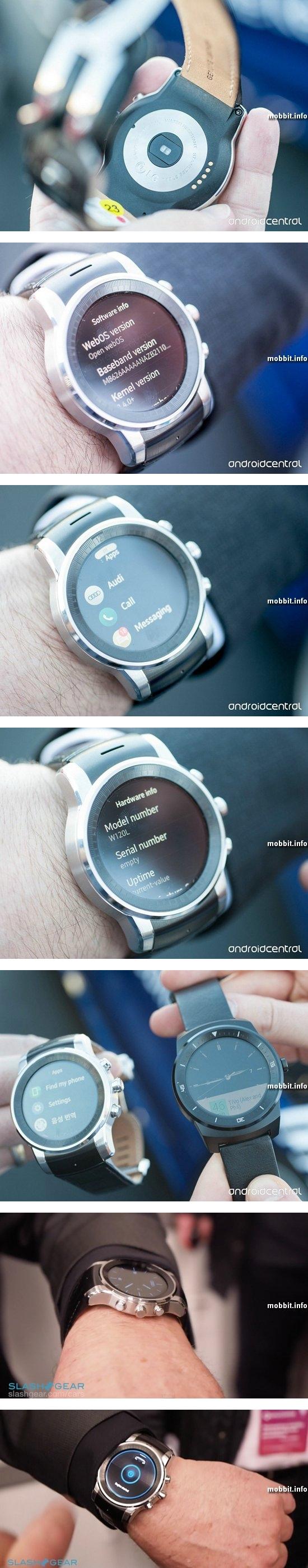 «Умные» часы от LG и Audi