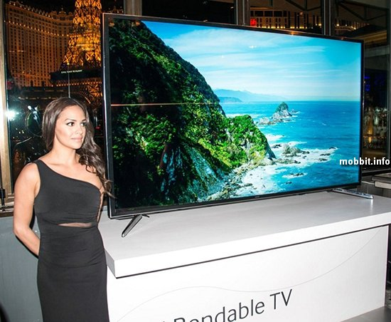 Bendable TV