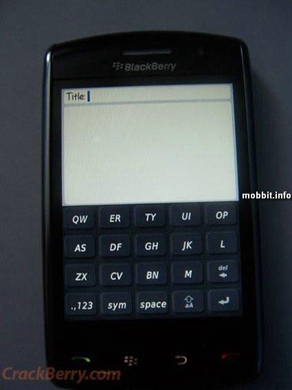 BlackBerry Thunder