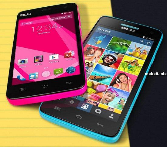 Новые смартфоны Blu Studio