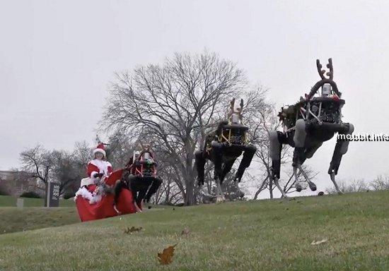 Роботы в упряжке Санта-Клауса