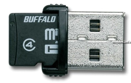 Buffalo card reader