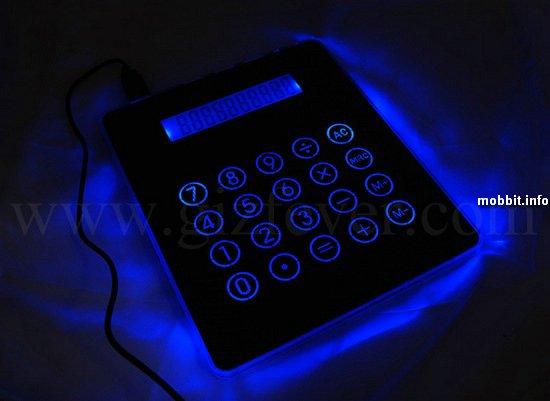 USB-хаб, коврик для мышки и калькулятор в одном