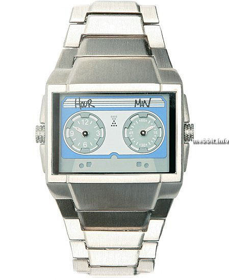 Cassette Face Watch