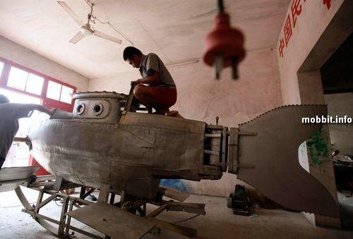 Подводная лодка домашнего производства