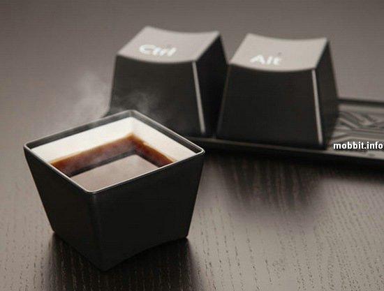 Символичные чашки Ctrl-Alt-Del