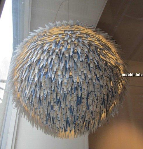 Удивительные лампы из бросовых вещей