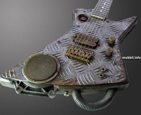 Стимпанковская гитара
