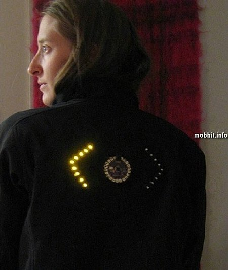 Cyclists LED-Jacket