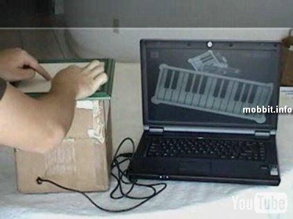 DIYсамодельное multi-touch устройство
