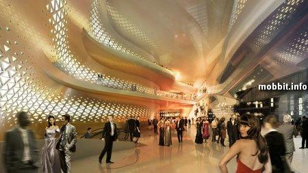 Проект Дворца танцев для Санкт-Петербурга