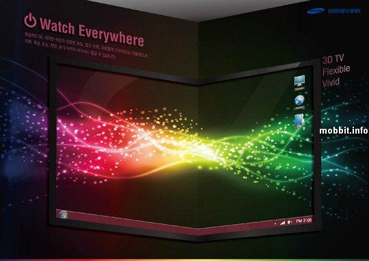 3D OLED дисплеи от Samsung