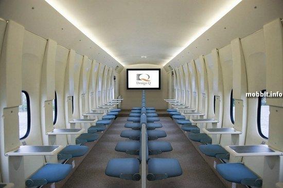 Концепт салона самолета Design Q