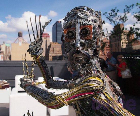 Киберпанк-скульптуры дизайнера Dishaw