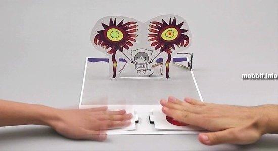 Бумага, вырабатывающая электричество, от Disney