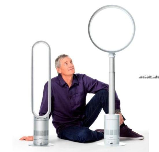 Безлопастные вентиляторы Dyson