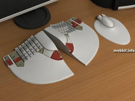 Ergo-keyboard
