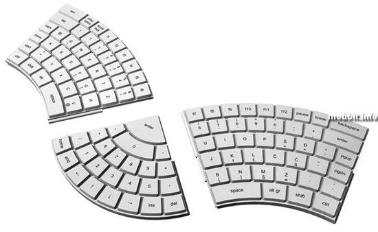 Эргономичная модульная клавиатура
