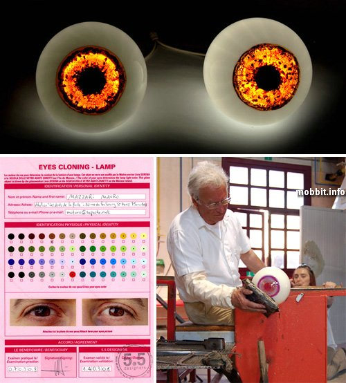 Eyeball Lamps