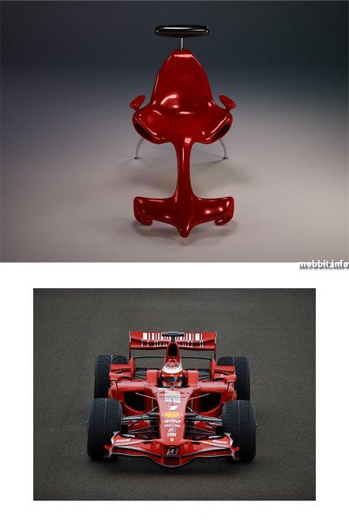 Кресло в стиле Ferrari Formula 1