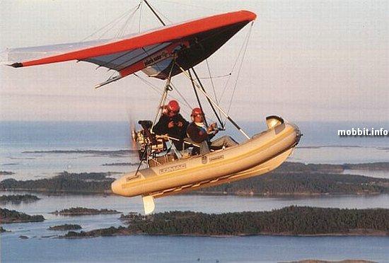 4 моторная летающая лодка