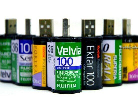 Флешки из кассет для фотопленки