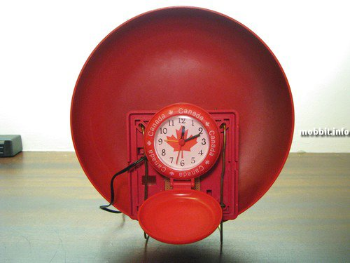 Fire Alarm Bell Clock