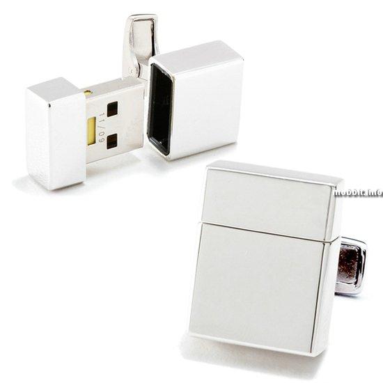 USB-флэшка в виде запонки