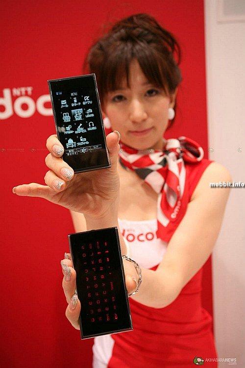 концептуальный телефон Fujitsu