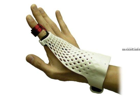 «Умная» перчатка для управления жестами от Fujitsu