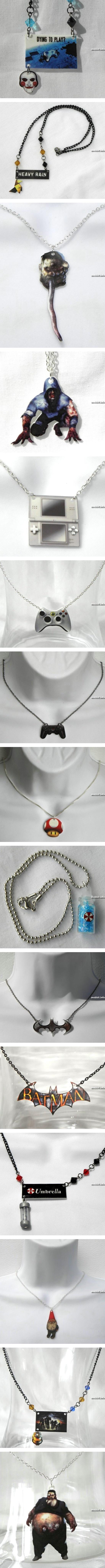 Украшения для девушек-геймеров